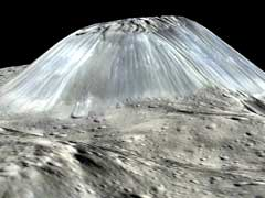 Dwarf Planet Ceres May Hold A Towering Ice Volcano