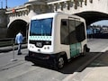 Paris Carries Out Its First Driverless Minibus Trial