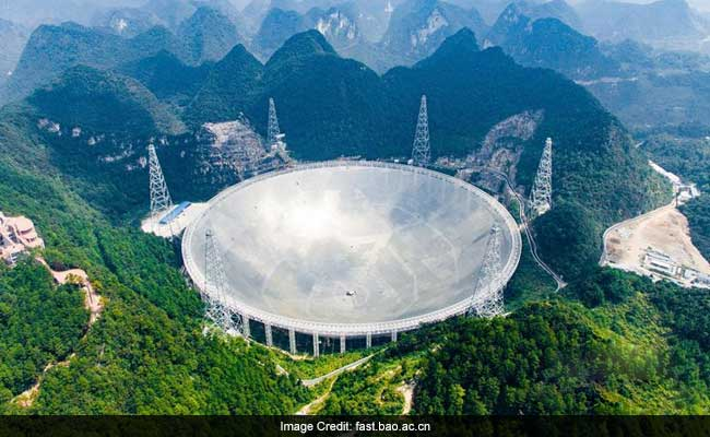 World's largest telescope begins search for alien life