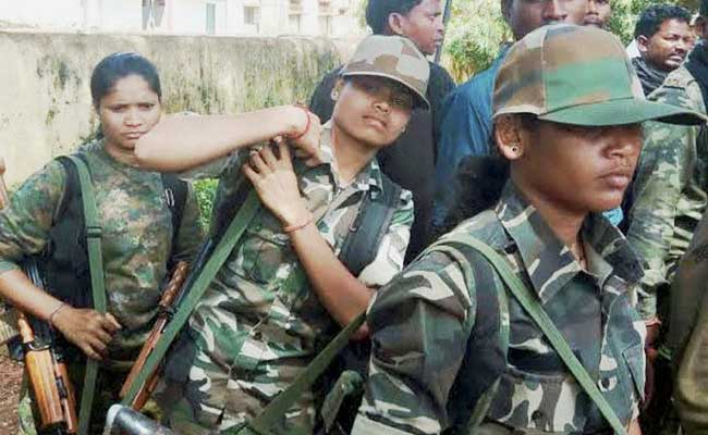 In Chhattisgarh's Bastar, Former Women Naxals Join Anti-Maoist Operation