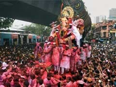 For Ganesh Visarjan, Choppers, Drones Keep An Eye On Mumbai