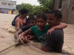 Flooding In Hyderabad After Heavy Rain, 5,000 Evacuated From Guntur