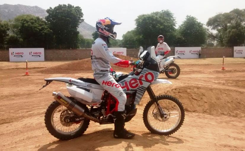 hero motosports cs santosh dakar 2017