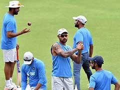 Amit Mishra, Virat Kohli Toil Hard in Optional Practice Session