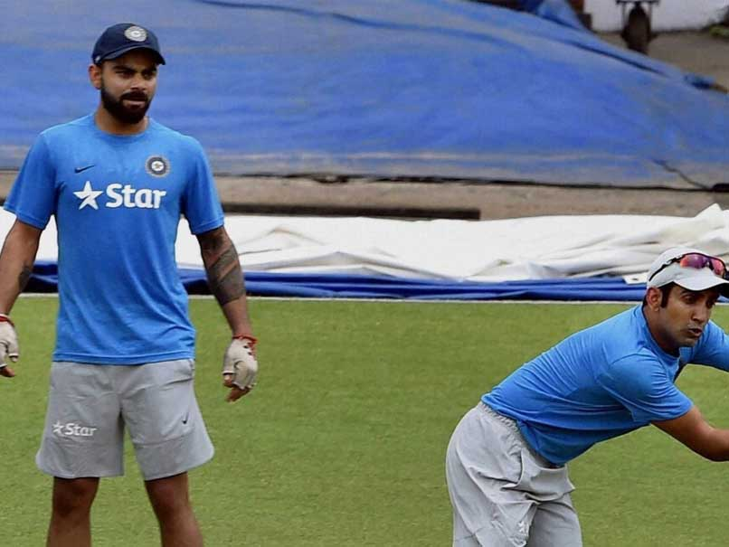 Virat Kohli, Gautam Gambhir Share Light Moments During Practice Session
