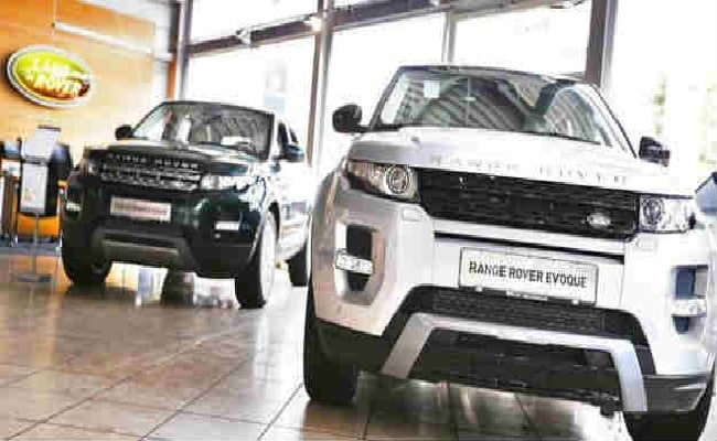jaguar land rover october sales jump 11 ndtv profit. Black Bedroom Furniture Sets. Home Design Ideas