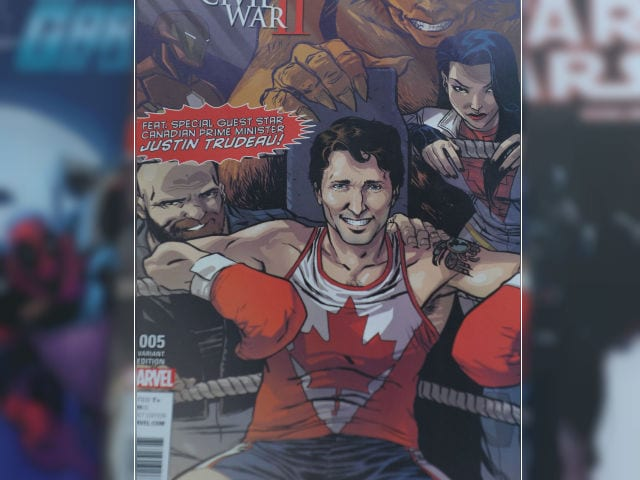 Canada's PM Justin Trudeau is Marvel's Latest Superhero