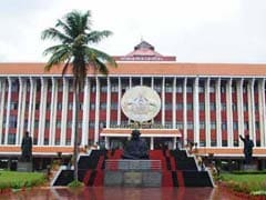 Opposition Protest In Kerala Assembly Over Medical Fees Hike