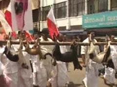 Dangling Dead Dogs On A Pole, Kerala Activists Protest Stray Menace