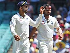 Mohammed Shami And His Joy of Bowling Reverse Swing