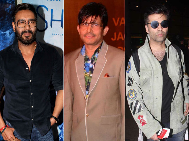 Ajay Devgn vs KRK: It's War, Bollywood-Style. What You Need to Know