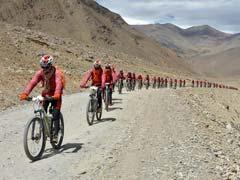 'Kung Fu' Nuns Cycle Across Himalayas To Raise Awareness On Trafficking