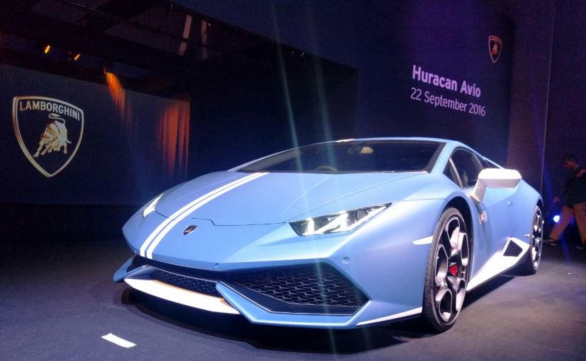limited edition lamborghini huracan avio launched in india at rs crore ndtv carandbike. Black Bedroom Furniture Sets. Home Design Ideas