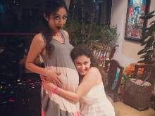 Trending: Manasi Parekh's Baby Shower Pics With Manjari Fadnis