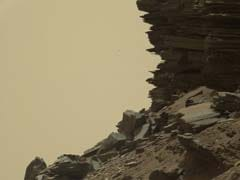 Curiosity Views Spectacular Rock Formations On Mars