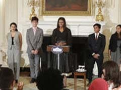 How 2 Indian-American Children Impressed Michelle Obama