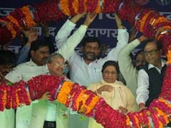 We Are 'Way Ahead Of Others', Claims Mayawati At Allahabad Rally