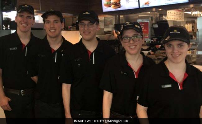 Quintuplets work first jobs at McDonald's in Potterville
