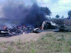 MiG-21 Aircraft Crashes In Barmer In Rajasthan, Pilot Ejects Safely
