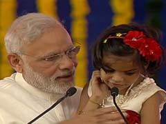 Differently-Abled Girl's Ramayana Rendition Steals Show At PM Modi's Rally