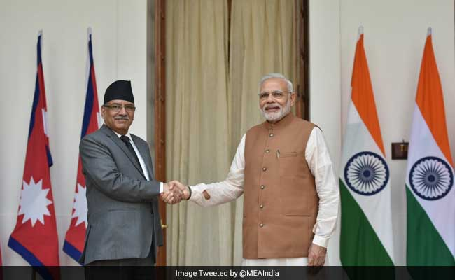 India Visit Successful, Created 'Environment Of Trust': Nepal PM 'Prachanda'
