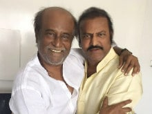 What Mohan Babu Tweeted About His Meeting With 'King' Rajinikanth