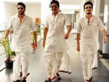 Nagarjuna's 'Rocking' Announcement Stars Sons Naga Chaitanya, Akhil