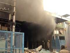 1 Dead, 3 Feared Trapped In Fire At Delhi Plastic Factory