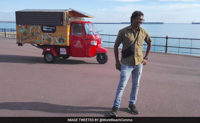This Indian-Origin Engineer Travelled 6,200 Miles In His Tuk-Tuk. Here's Why