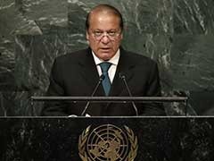 Nawaz Sharif Says At UN 'World Ignoring South Asia Tensions At Its Own Peril'