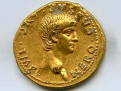 'Exceptionally Rare' Roman Gold Coin With Nero's Face Found In Israel
