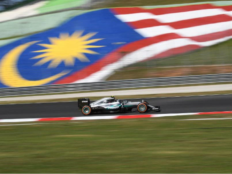 Formula One: Nico Rosberg Quickest in Fiery Malaysian GP Practice
