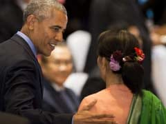 Barack Obama To Discuss Sanctions Policy With Myanmar's Suu Kyi