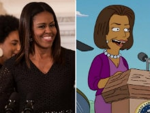 Michelle Obama Refused Role in The Simpsons With Note Saying 'Good Try'