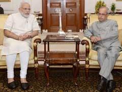 PM Modi Meets President To Brief Him On Uri Terror Attack Developments