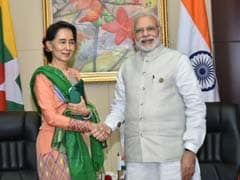 India Has Advantage Over China In Suu Kyi's Myanmar: Report