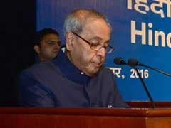 President Pranab Mukherjee To Visit Gujarat On October 23