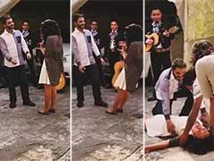 He Popped The Question, She Fainted. Wedding Proposal Goes Viral