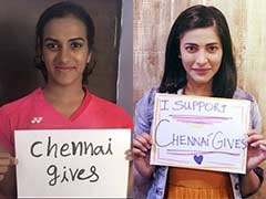 Celebrities Power #ChennaiGives That Supports The Needy