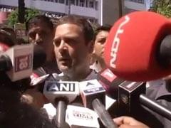 'नरेंद्र मोदी ने पहली बार प्रधानमंत्री की तरह कार्रवाई की' : सर्जिकल स्ट्राइक पर राहुल गांधी