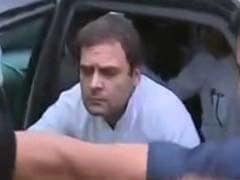 'Want To Meet Our MP:' 150 Women Block Rahul Gandhi's Car In Amethi