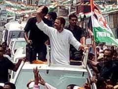 Rahul Gandhi's Roadshow Stalls Traffic, Ambulance Stuck For 40 Minutes
