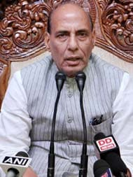 All Attempts To Free Soldier In Pak Captivity Being Made: Rajnath Singh