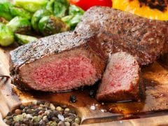 Dinner in 20 Minutes: Shake 'n' Steak, or How to Pull Off a Lean Meal Where Less Seems Like More; Recipe