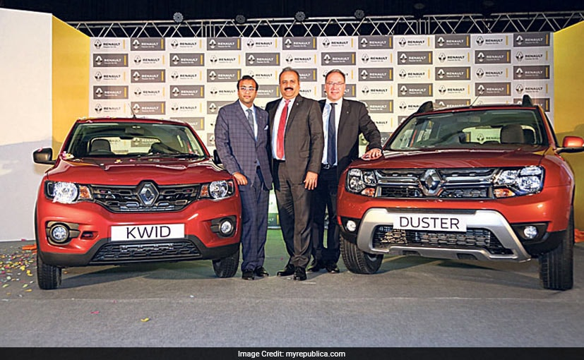 made in india renault kwid duster make their way to nepal ndtv carandbike. Black Bedroom Furniture Sets. Home Design Ideas