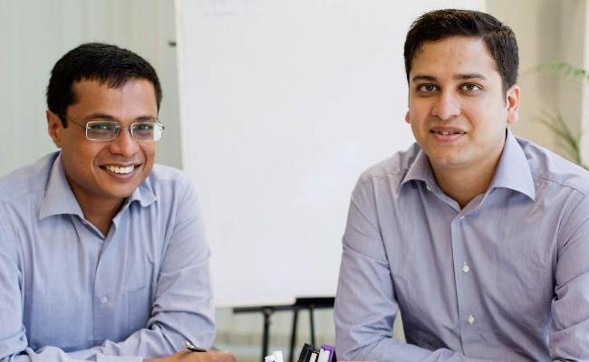 Sachin Bansal will remain executive chairman, and will work closely with Binny Bansal.