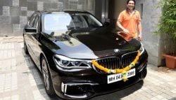 Sachin Tendulkar Adds A New Customised BMW 750Li M Sport To His Garage