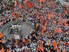 Thousands Join Maratha Protests Demanding Quotas In Sangli