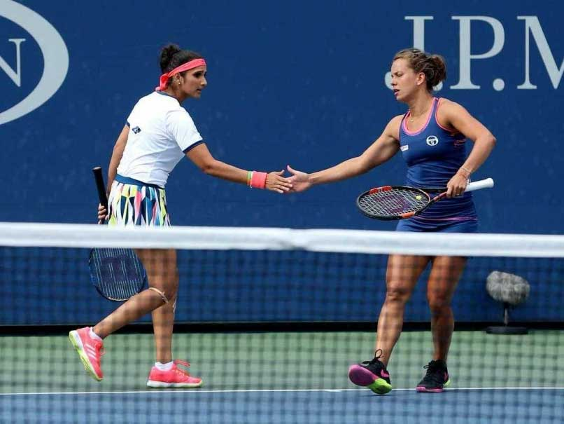 Sania Mirza-Barbora Strycova in Wuhan Open Tennis Semi-Finals