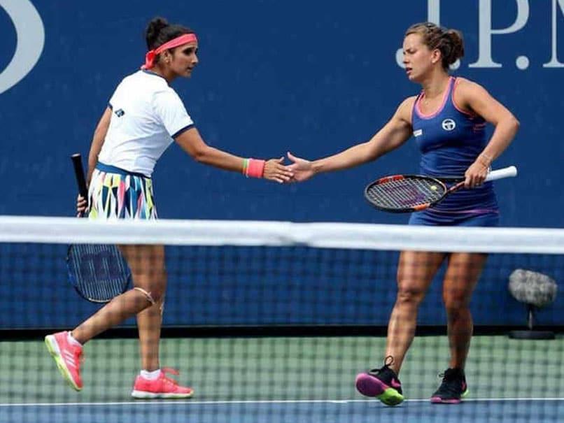 Wuhan Open: Sania Mirza-Barbora Strycova Advance To Third Round